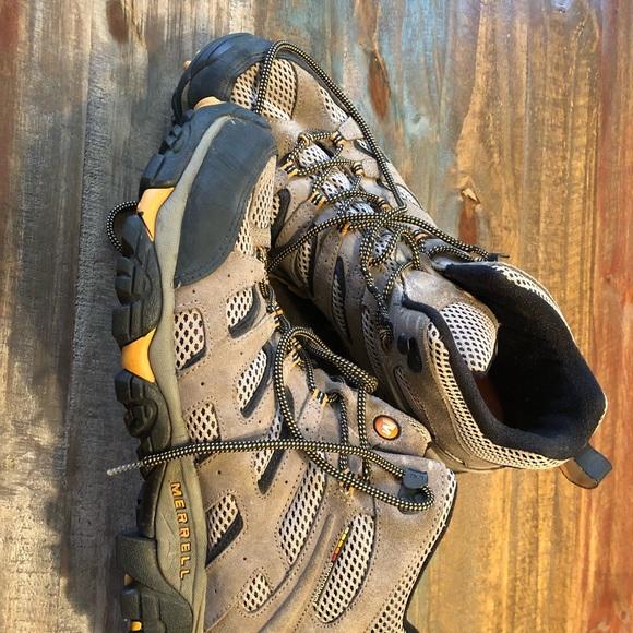 9b7fdbb4d00 Merrill hiking boots size 14 Men's